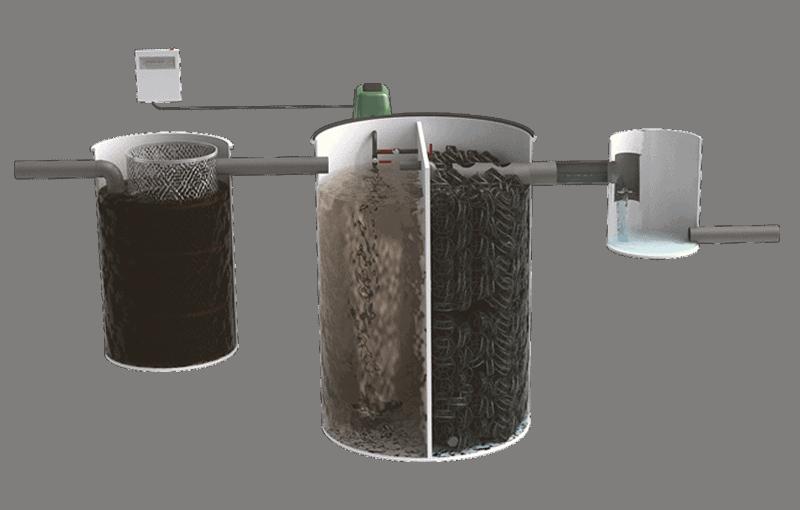 Depuradora de Oxidación total domestica
