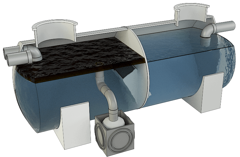 Separadores de Hidrocarburos con salida telescópica 6
