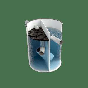 Separador de hidrocarburos para talleres