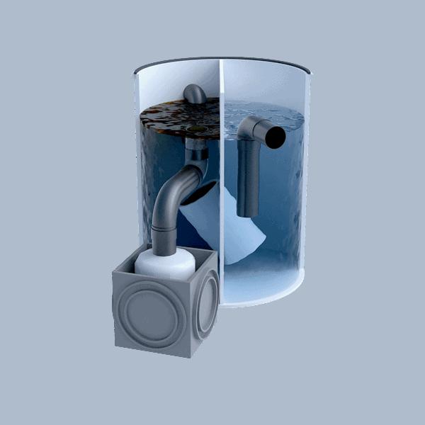 Separadores de Hidrocarburos con salida telescópica 1