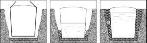 Instalación tanques enterrados verticales