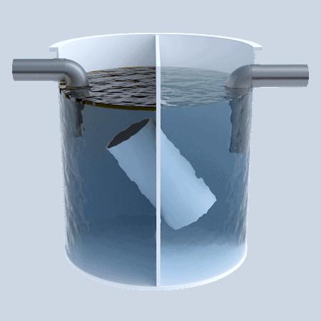 Separador de 1000 litros Estándar