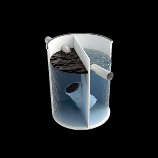 Separador hidrocarburos de 300 simple