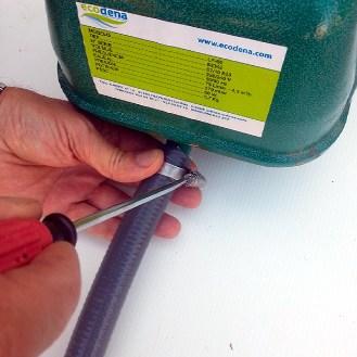 Instalación-Manguera-PVC