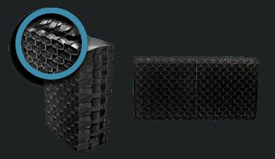 Modulos lamelares para tratamientos de aire