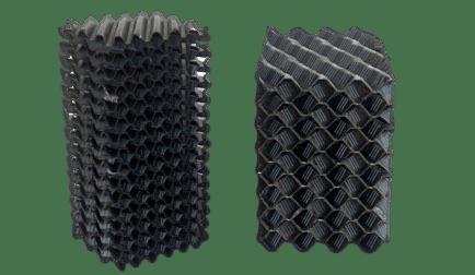 Módulos lamelares