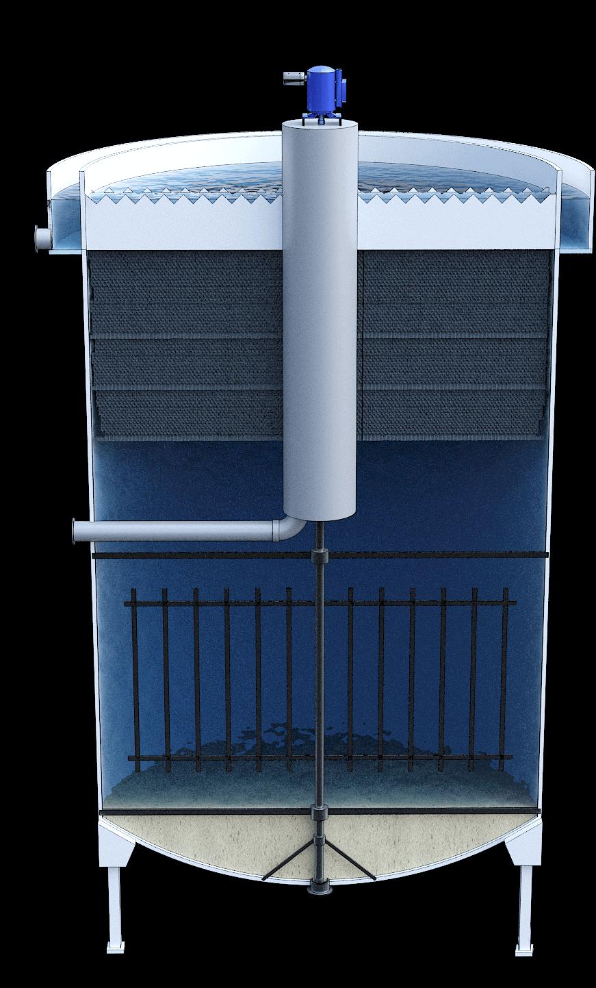 Sedimentadores lamelares cilíndricos 2