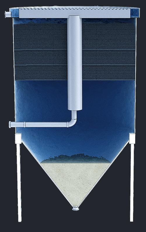 Sedimentadores lamelares cilíndricos 3