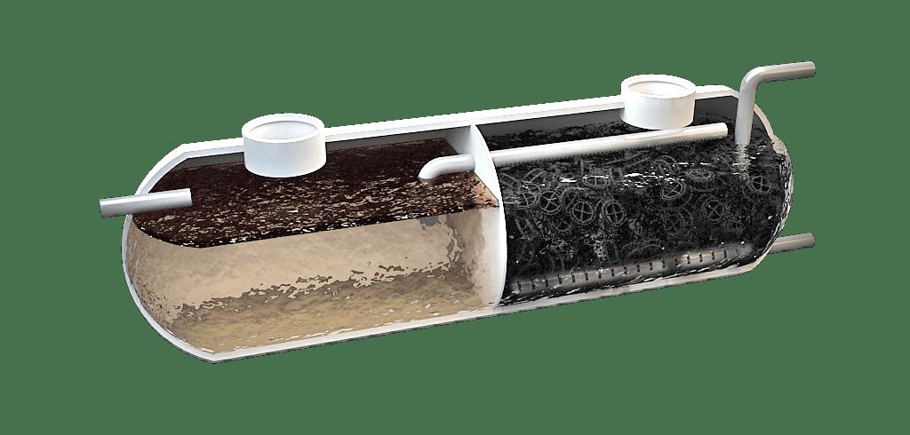 Filtro Biológico para aguas residuales