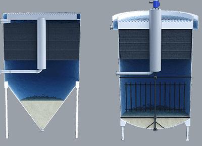Sedimentadores lamelares cilíndricos 1