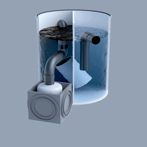 Separadores de Hidrocarburos con salida telescópica 3