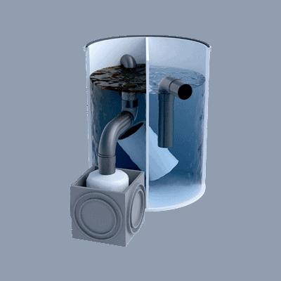 Separadores de Hidrocarburos con salida telescópica 2