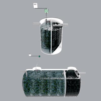 Oxidación Total con Relleno Plástico Filtrante MBBR 1