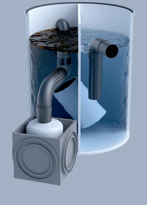 Separador de hidrocarburos para taller